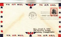 834 $5 CALVIN COOLIDGE FIRST DAY COVER