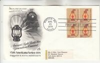 1612 $5 CONDUCTOR'S LAMP FIRST DAY COVER