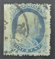 NYSTAMPS US STAMP  23 USED $1000 S10X126