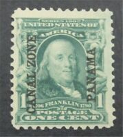 NYSTAMPS US CANAL ZONE STAMP  4 MINT OG H    S10X1336