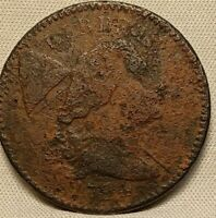 1794  LIBERTY CAP LARGE CENT  S-45 R5  HEAD OF 1794