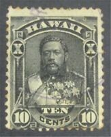 NYSTAMPS US HAWAII STAMP  40 USED    S10X1376