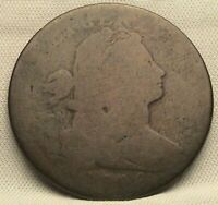 1796  DRAPED BUST LARGE CENT. S-94 R5