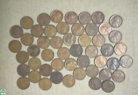 ROLL OF 1924 D CIRCULATED LINCOLN WHEAT CENTS WITH PROBLEMS