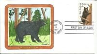 2299 BLACK BEAR FDC   GEERLINGS HAND PAINTED CACHET   ONLY 5