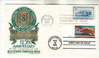 1006 3337 B & O STAEHLE COMBINATION FIRST DAY COVER