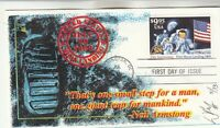 2842 $9.95 FIRST MOON LANDING FIRST DAY COVER