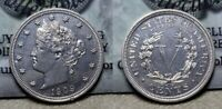 1909 PROOF LIBERTY V NICKEL 5C PROOF DETAILS LIGHTLY CLEANED