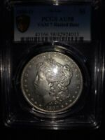 1880 MORGAN PCGS HIT LIST COIN AU 58 VAM 7 RUSTED DATE EXTREMLY