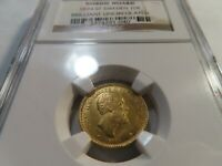 F1 SWEDEN 1874 ST GOLD 10 KRONOR NORDIC HOARD NGC BRILLIANT