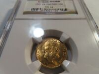 F8 SWEDEN 1901 EB GOLD 10 KRONOR NORDIC HOARD NGC MS 64