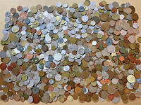 10 POUND LB 1800S 2000S WORLD COIN LOT