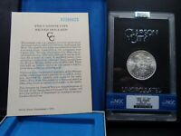 1882-CC MINT STATE 65 GSA HOARD MORGAN SILVER DOLLAR NGC CERTIFIED GEM WITH BOX/COA WHITE