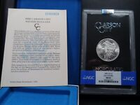 1883-CC MINT STATE 65 GSA HOARD MORGAN SILVER DOLLAR NGC CERTIFIED GEM WITH BOX/COA WHITE