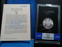 1883-CC MINT STATE 64 GSA HOARD MORGAN SILVER DOLLAR NGC CERTIFIED WITH BOX/COA - WHITE