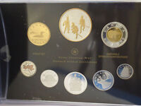 CANADA 2012 WAR OF 1812 SILVER DOLLAR 99.99  PURE SILVER 8 COIN PROOF SET   GOLD