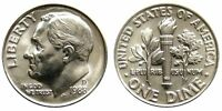 1989 D GEM BRILLIANT UNCIRCULATED ROOSEVELT DIME.