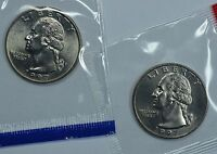 1997 P & D WASHINGTON QUARTERS IN MINT CELLO SEE STORE FOR DISCOUNTS