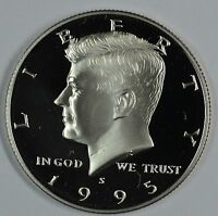 1995 S KENNEDY CLAD PROOF HALF DOLLAR       SEE STORE FOR DISCOUNTS RD08