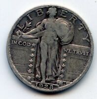 1928 P STANDING LIBERTY QUARTER SEE PROMO