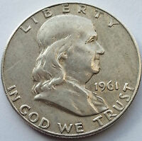 1961 D 50C FRANKLIN HALF DOLLAR