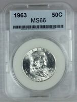 1963 P 50C FRANKLIN HALF DOLLAR 90 SILVER MINT STATE US COIN FROM US MINT SET