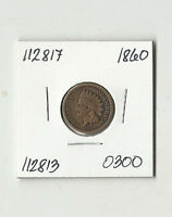 1860 INDIAN HEAD CENT    112817
