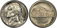 10 COINS 1980 1989 D MINT STATE JEFFERSON NICKELS HIGH QUALITY FROM US MINT SETS