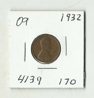 1932 LINCOLN WHEAT CENT    09