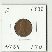 1932 LINCOLN WHEAT CENT    14