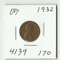 1932 LINCOLN WHEAT CENT    05