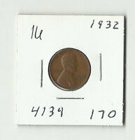 1932 LINCOLN WHEAT CENT    16