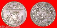 1616 EAST INDIA COMPANY 786 TAU MOON ALLAH  LUCKY COPPER COIN GRAB