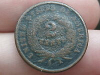 1864-1872 TWO 2 CENT PIECE- OLD TYPE COIN