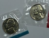 1980 P & D JEFFERSON NICKELS IN MINT CELLO SEE STORE FOR DISCOUNTS