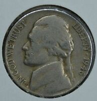 1946 JEFFERSON CIRCULATED NICKEL  SEE STORE FOR DISCOUNTS