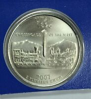 2007 P UTAH STATE SATIN QUARTER IN MINT CELLO SEE STORE FOR DISCOUNTS  BR22