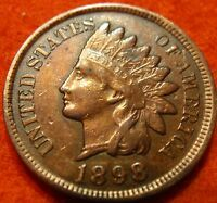 1898 FULL LIBERTY INDIAN HEAD GREAT DETAILS