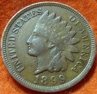 1899 FULL LIBERTY INDIAN HEAD GREAT DETAILS  LOW SHIPPING.