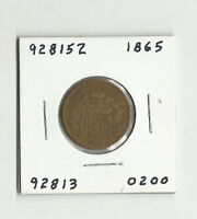 1865 TWO CENTS -  928152