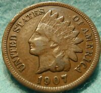 1907 FULL LIBERTY INDIAN HEAD GREAT DETAILS  HIGH GRADE