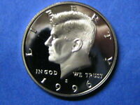 1996 S  PROOF  KENNEDY HALF DOLLAR XF