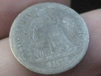 1875 SEATED LIBERTY DIME  OLD TYPE COIN