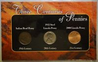 1800,1900 & 2000 THREE CENTURIES OF AMERICAN PENNIES  C3