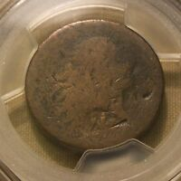 1793 FLOWING HAIR LARGE CENT VINE AND BARS EDGE S 8