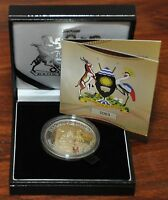 UGANDA   CROWN SIZE BIMETAL 1000 SHILLINGS UNC COIN 2012 50TH ANNI INDEPENDENCE
