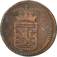 LUXEMBOURG 1/2 LIARD 1784 BRUSSELS KM 10 VF20 25 COPPER 1.50