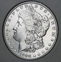 1900  MORGAN DOLLAR   ALMOST UNCIRCULATED   BEST TIME TO BUY SILVER IN YEARS