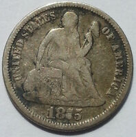 1875 10C LIBERTY SEATED DIME