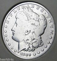 1889 O MORGAN DOLLAR   BETTER BUYERS   BUY BETTER DATE   MORGAN SILVER DOLLARS